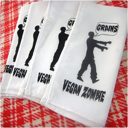 Vegan Zombie Napkins