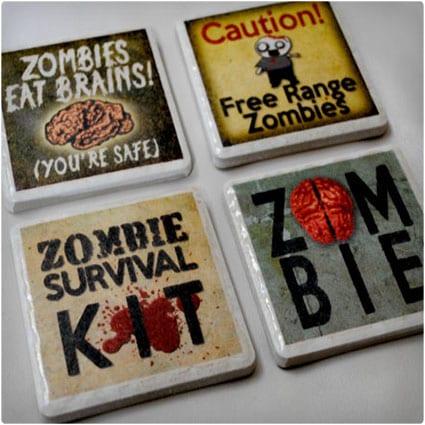 Zombie Coasters
