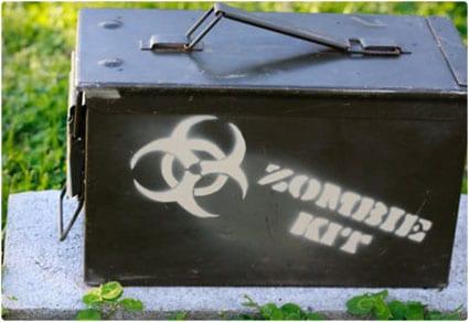 Zombie Survival Storage Box