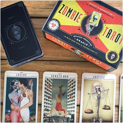 Zombie Tarot Cards