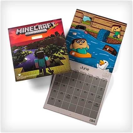 2014 Minecraft Calendar