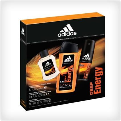 Adidas Deep Energy 3 Piece Gift Set