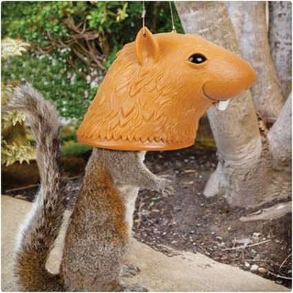 50 hilariously wacky white elephant gifts big head squirrel feeder solutioingenieria Choice Image