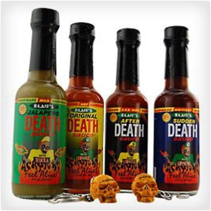 Blair's Mini Death Hot Sauce 4-Pack