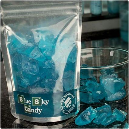 Blue Sky Rock Candy