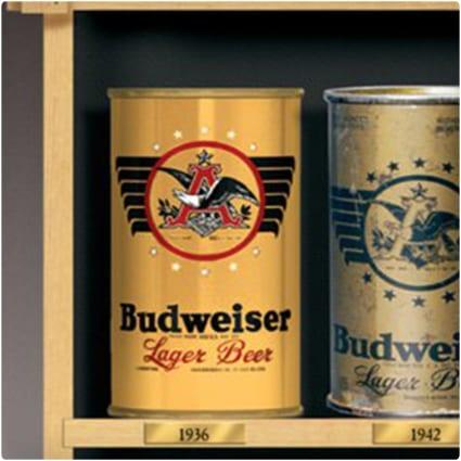 Budweiser Replica Vintage Beer Can