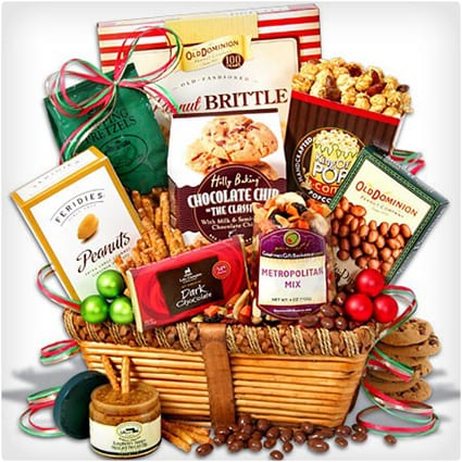 38 unique gift baskets that dont suck dodo burd classic christmas gift basket negle Choice Image