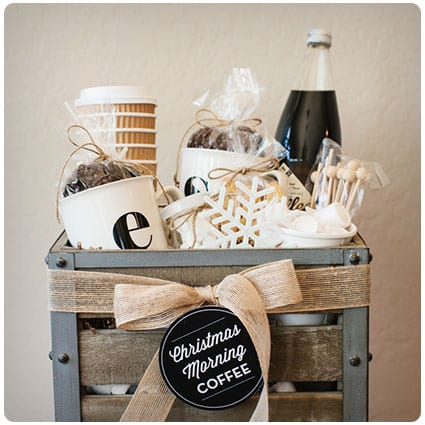 Diy Coffee Gift Basket