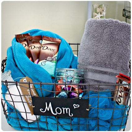 Diy Spa Basket Gift Idea