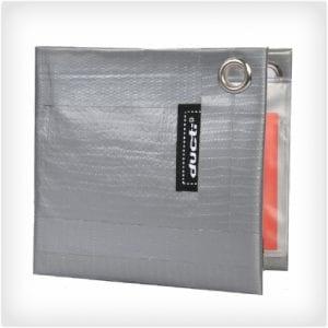Duct Tape Bi Fold Wallet