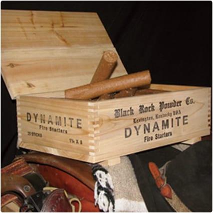 Dynamite Fire Starter