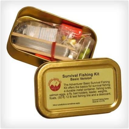 Emergency Survival Fishing Kit