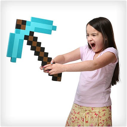 Foam Diamond Pickaxe