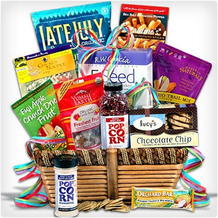 Food gift baskets food gluten free gift basket 38 unique gift baskets that don t dodo burd negle Choice Image