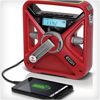 Hand Turbine Emergency Radio