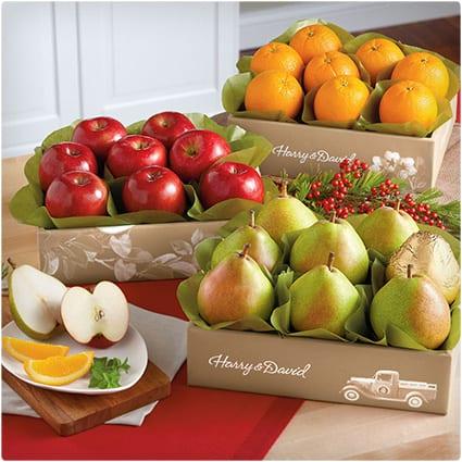 Harry & David Triple Treat Fruit Deluxe
