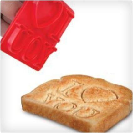 I Love You Toast Stamper