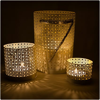 Lantern Vases