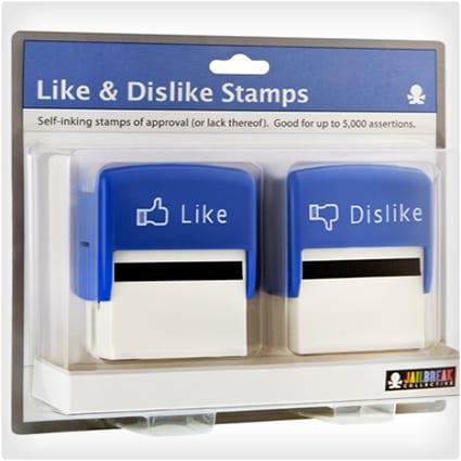 Like Dislike Stamps