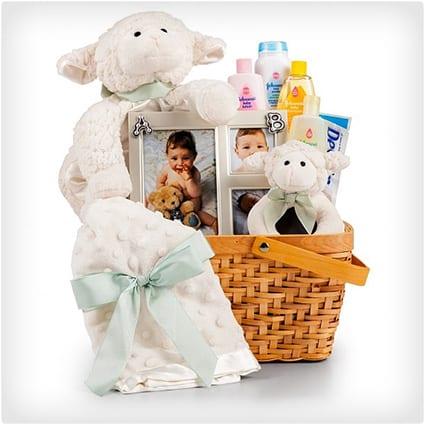 Little Lamb Baby Gift Set