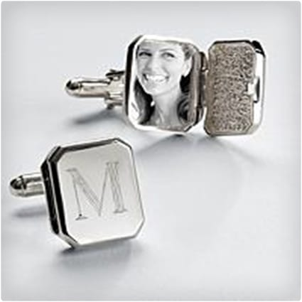 Locket Cuff Links