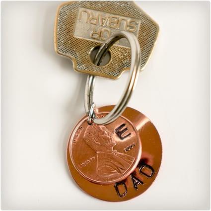 Lucky Penny Keychain