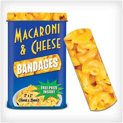 Mac & Cheese Band-Aids