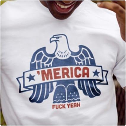 Merica, F@#$ Yeah T-Shirt