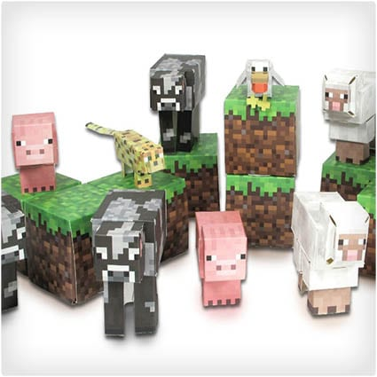 Minecraft Papercrafts
