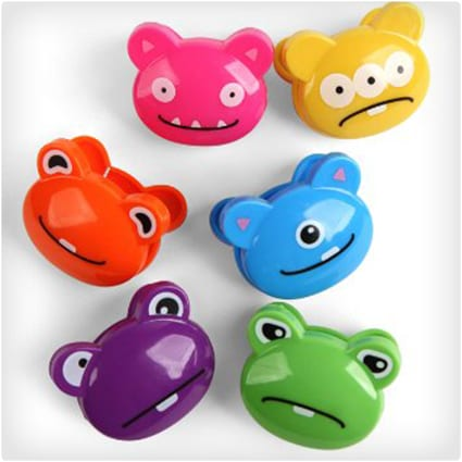 Monsters Bag Clips