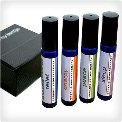 Organic Aromatherapy Gift Set