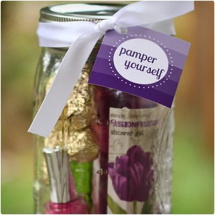 Pamper Yourself in a Jar