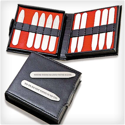 Personalized Message Collar Stays