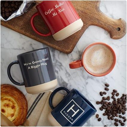 Personalized Stoneware Mug