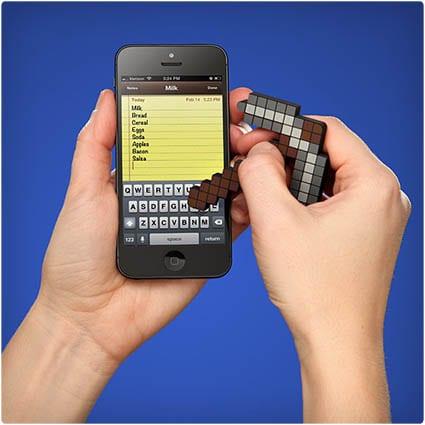 Pickaxe Touchscreen Stylus