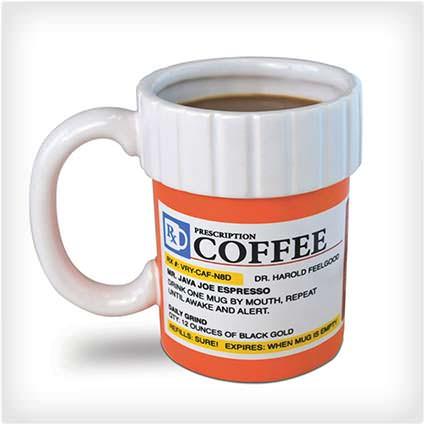 50 hilariously wacky white elephant gifts prescription coffee mug solutioingenieria Choice Image