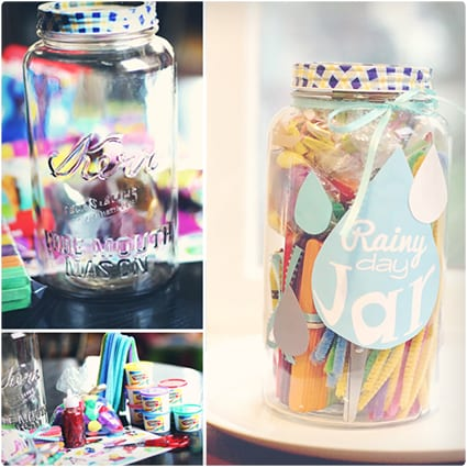 Rainy Day Jar For Kids