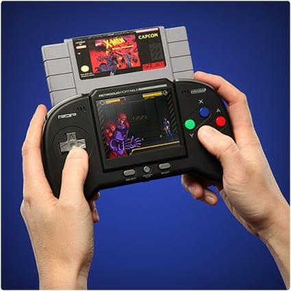 Retro Duo Portable NES SNES Game System