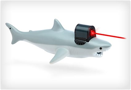 Shark With Frickin' Laser Pointer