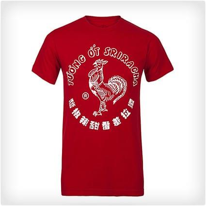 Sriracha Rooster Tee
