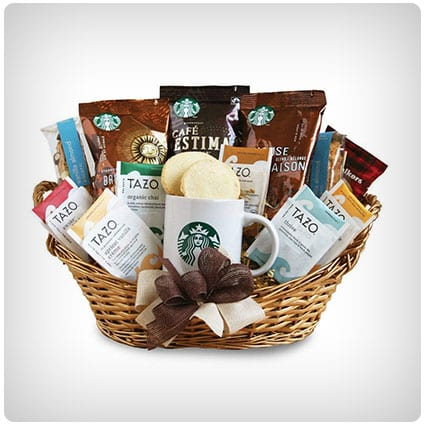 Starbucks Daybreak Gourmet Coffee Gift Basket