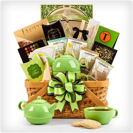 38 unique gift baskets that dont suck dodo burd teatime basket negle Gallery