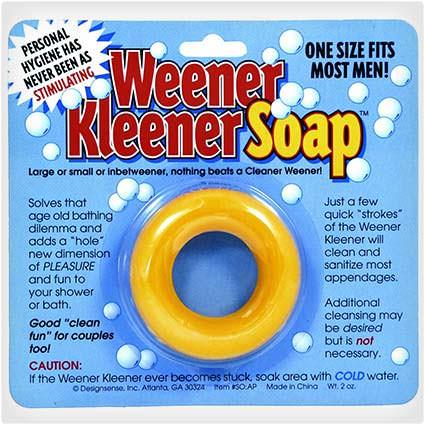 50 hilariously wacky white elephant gifts weener kleener soap solutioingenieria Choice Image