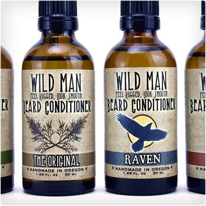 Wild Man Beard Conditioning Oil