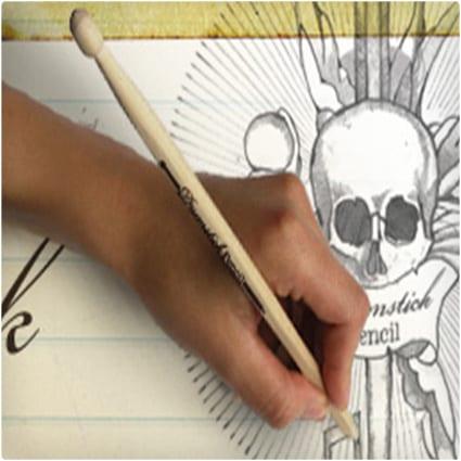 Wooden Drumstick Pencil