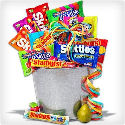 Wrigleys Fruit Candy Bucket