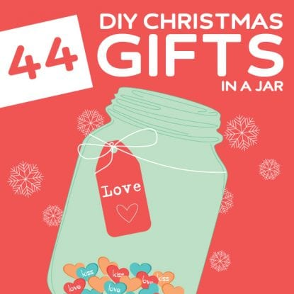 44 Creative DIY Christmas Gifts in a Jar- OMG, I love this! So many creative gifts in a jar.