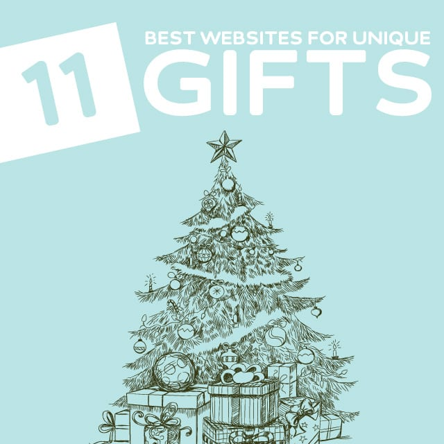 11 Best Websites to Find Unique & Unusual Christmas Gifts- these are great sites to find gifts that are unique and different.