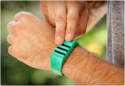 kapture audio recording wristband