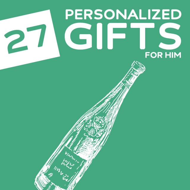27 Thoughtful Personalized Gifts for Him | Dodo Burd